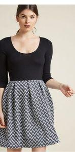 Modcloth small patterned dress.